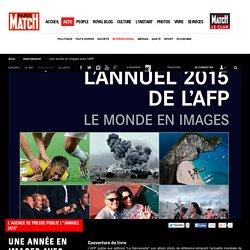 """L'agence de presse publie l'""""Annuel 2015"""" - Une année en images avec l'AFP"""