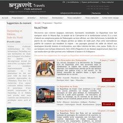 Agence de voyage en rajasthan, Tour opérateur en rajasthan inde