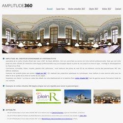 Agence visite virtuelle 360 interactive, Objet en 360 Paris