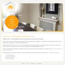 Le concept de Sérénity Projets concernant l'agencement feng shui intérieur / extérieur