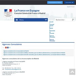 Agences Consulaires