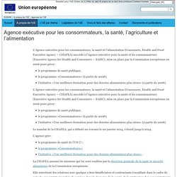 Agences de l'Union européenne - CHAFEA