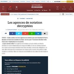 Les agences de notation décryptées