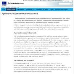 Agences de l'Union européenne - EMA