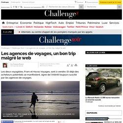Les agences de voyages, un bon trip malgré le web - 2 septembre 2015
