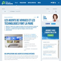 Agences de voyages et technologies - Veilletourisme.ca