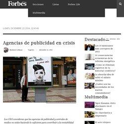 Agencias de publicidad en crisis