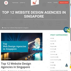 Top 12 Website Design Agencies/Companies in Singapore