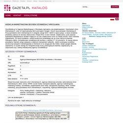 Agencja Marketingowa SEO/SEM OzonMedia z Wrocławia - Katalog Stron - serwisu Gazeta.pl