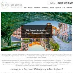 SEO Agency Birmingham