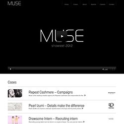 MUSE – The integrated agency with a digital heart and an analogue soul