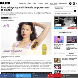 Fake ad agency sells female empowerment to brands