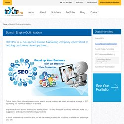 ITXITPro - SEO & Digital Marketing
