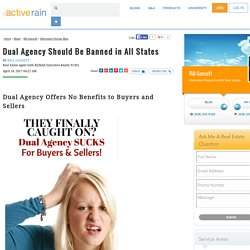 Dual Agency Should Be Banned in All States