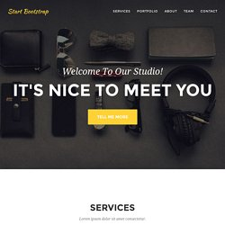 Agency - Start Bootstrap Theme