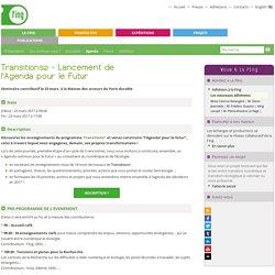 23/03 - Transitions2 - Lancement de l'Agenda pour le Futur