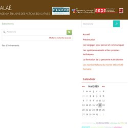 ALAÉ agenda actions éducatives