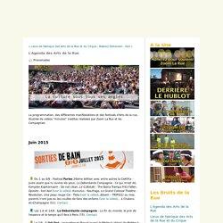 L'Agenda des Arts de la Rue - Zoom La Rue, le plein d'infos et l'agenda des festivals des Arts de la Rue