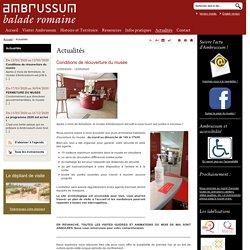 Ambrussum, musée de site à Villetelle - Conditions de réouverture du musée