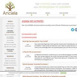AGENDA DES ACTIVITÉS - Anciela