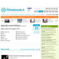 Agenda eventi Milano e provincia