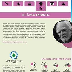 Agenda 2015 « Jour de la Terre Québec – Le 22 avril et tous les jours!