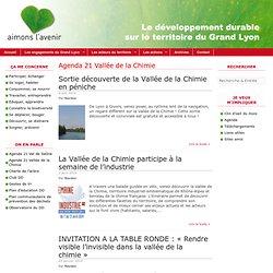 Agenda 21 Vallée De La Chimie
