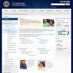 UNITED STATES DEPARTMENT OF VETERANS AFFAIRS - Agent Orange