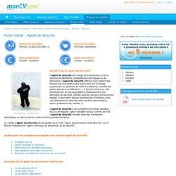 Agent de sécurité - MonCV.com