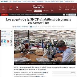 Les agents de la SNCF s'habillent désormais en Armor Lux