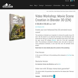 Video Workshop: Movie Scene Creation in Blender 3D (EN) – AgenZasBrothers