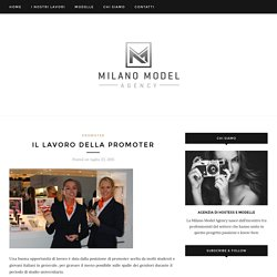 Agenzia Promoter Italia, Hostess And Promoter Milano