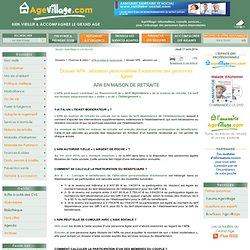 APA, Toutes les informations pratiques sur l'APA : allocation personnalisée d'autonomie des personnes âgées