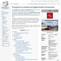 Transports en commun de l'agglomération clermontoise