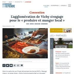 LA MONTAGNE 29/03/19 L'agglomération de Vichy s'engage pour le « produire et manger local »