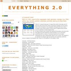 + de 200 sites en rapport RSS