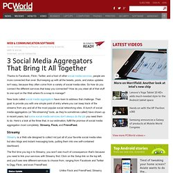 3 Social Media Aggregators That Bring It All Together