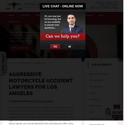 Aggressive Motorcycle Accident Lawyers for Los Angeles