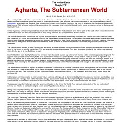 Agharta, The Subterranean World