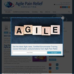 Notes from a Tool User: Best Agile Books the 2007 Edition