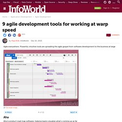 9 agile development tools for working at warp speed