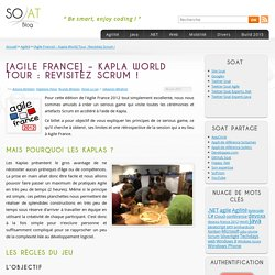 [Agile France] – Kapla World Tour : Revisitez Scrum !