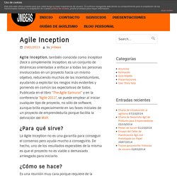 Agile Inception