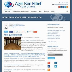 Agile Quick Links #20