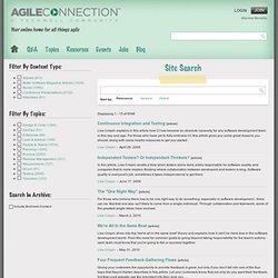 Agile Connection