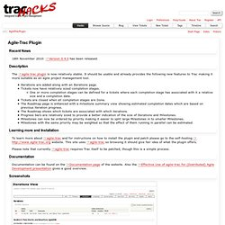 AgileTracPlugin