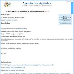 Agenda des Agilistes - informations sur un évènement