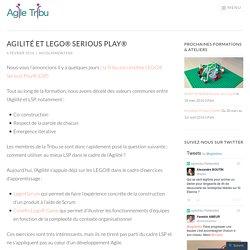 Agilité et LEGO® Serious Play®