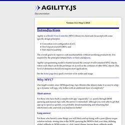 Agility.js - Documentation