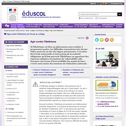 Prévention de l'illettrisme à l'école - Plan de prévention de l'illettrisme à l'école